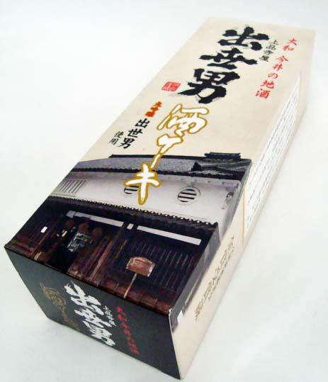 画像1: 大和・橿原・河合酒造・出世男/大吟醸漬け・酒ケーキ (1)