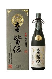 画像1: 大七 皆伝 純米吟醸1800ml (1)