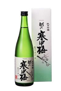画像1: 越の寒中梅 純米吟醸720ml (1)