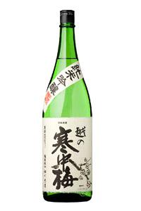 画像1: 越の寒中梅 純米吟醸1800ml (1)